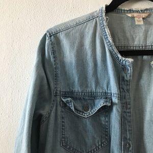 GAP Dresses - GAP Denim Dress/Jacket